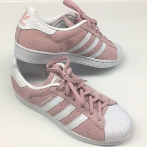 NIB adidas superstar pink 7.5